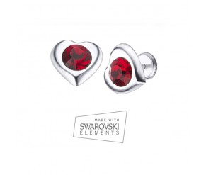 Corazón Rojo Earrings VipDeluxe