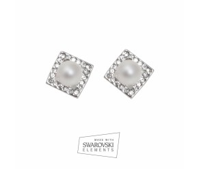 Earrings KENTIA PERLA BLANCA VipDeluxe