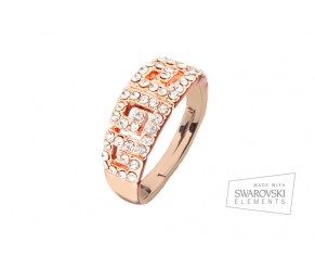 Cleopatra oro rosado Ring VipDeluxe