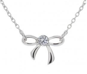 Bow Pendant DIAMOND STYLE