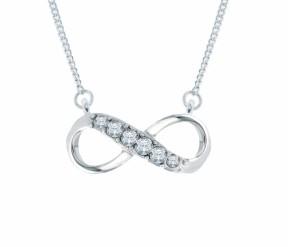 Infinity Pendant DIAMOND STYLE