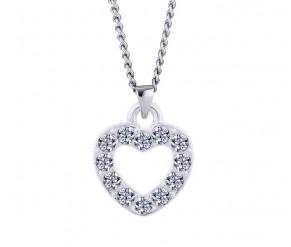 Pave Heart Pendant DIAMOND STYLE