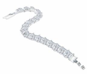 Princess Tennis Bracelet DIAMOND STYLE