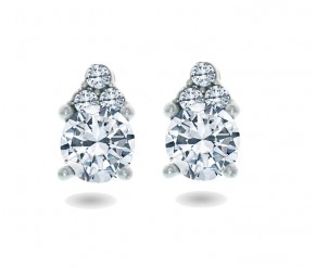 Trinity Earrings DIAMOND STYLE