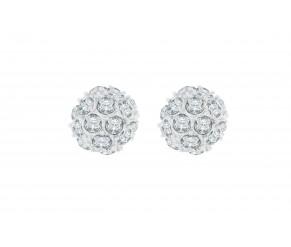 Crystal Ball Studs DIAMOND STYLE