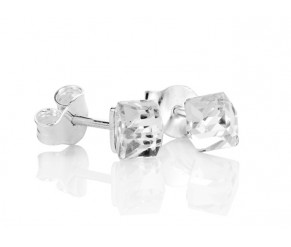 Cube Ear Studs DIAMOND STYLE