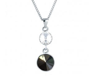 Allure Pendant in Black DIAMOND STYLE
