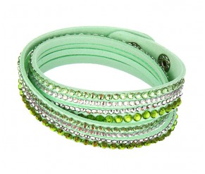 Astral Bracelet in Apple Green DIAMOND STYLE