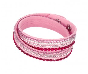 Astral Bracelet in Baby Pink DIAMOND STYLE