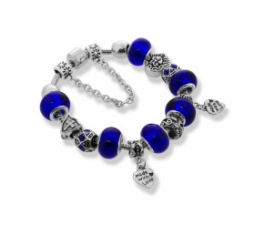 Ava Bracelet in Dark Blue DIAMOND STYLE