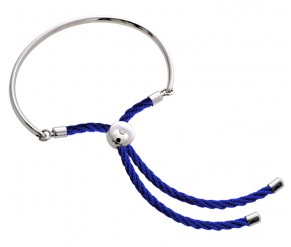 Bali Bracelet with Royal Blue DIAMOND STYLE