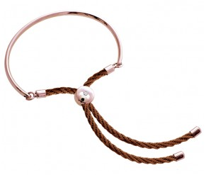 Bali Bracelet in Rose Gold with Rose DIAMOND STYLE