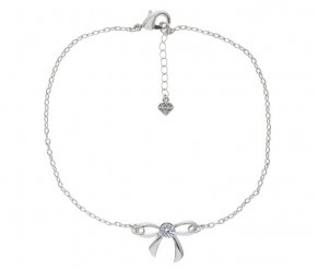 Bow Anklet DIAMOND STYLE