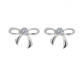 Bow Earrings DIAMOND STYLE