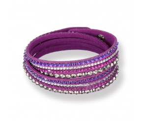 Chloe Bracelet in Purple DIAMOND STYLE