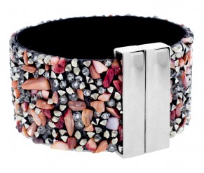 Cuff Bracelet in Coral DIAMOND STYLE