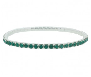 Elizabeth Bracelet in Emerald DIAMOND STYLE