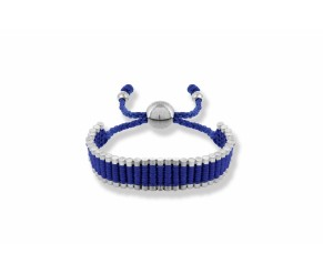Friendship Bracelet Royal Blue DIAMOND STYLE