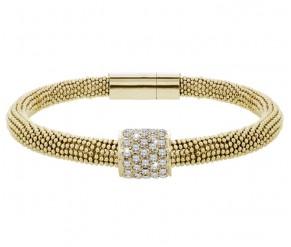 Galaxy Bracelet in 14K Gold Plating DIAMOND STYLE