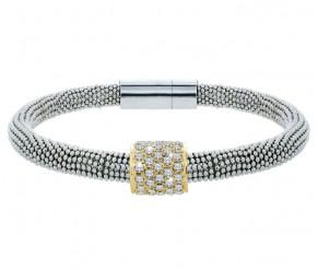 Galaxy Bracelet with 14K Gold Plated Charm DIAMOND STYLE