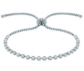 Indo Bracelet in White Gold DIAMOND STYLE