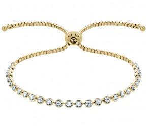 Indo Bracelet in 14K Gold DIAMOND STYLE