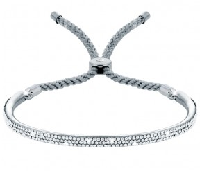 Java Bracelet in White Gold with Silver DIAMOND STYLE