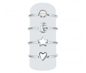 Midi Ring Set DIAMOND STYLE